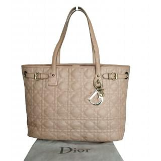 Dior Panarea Quilted Light Pink Tote