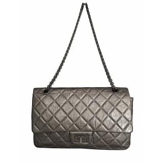 Chanel Metallic Aged Calfskin 2.55 Reissue 225 Double Flap Bag