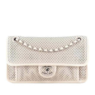 Chanel Up in the Air Classic Perforated Leather Flap Bag