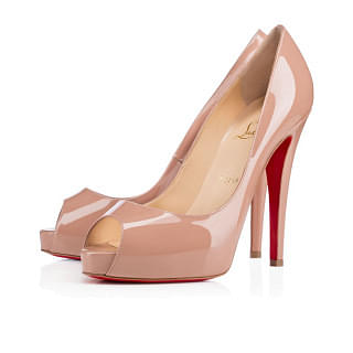 Christian Louboutin Very Prive 120 mm Nude