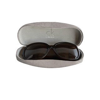 Calvin Klein Black Sunglasses