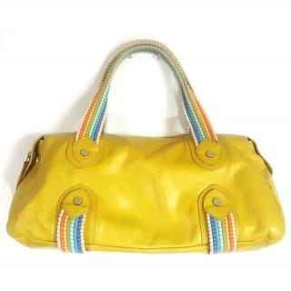 Claudia Firenze Lime Green Leather Purse