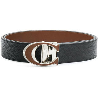 Coach C Buckle Reversible Belt