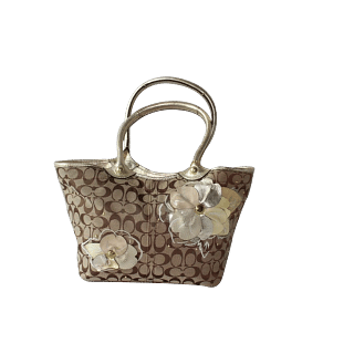 Coach Bleeker Floral Tote