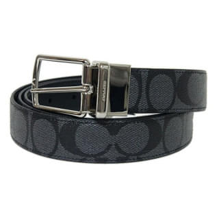 Coach Signature Reversible Men's Belt