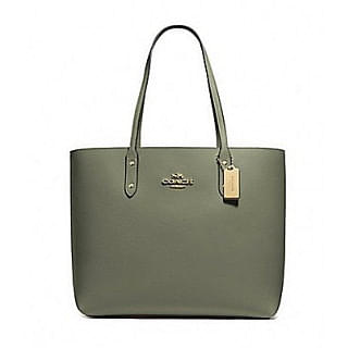 Coach F72673 Leather Town Tote