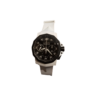 Corum Men's Admiral's Cup Challenger 44 Chrono Rubber Wacth (Limited Edition)