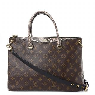 Louis Vuitton Python Monogram Pallas Bag