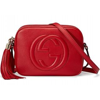 Gucci Soho Disco Red Bag