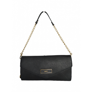 DKNY Envelope Leather Clutch