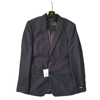 DKNY Slim Fit Black Blazer 2