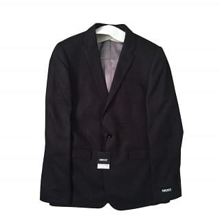 DKNY Slim Fit Black Blazer 3