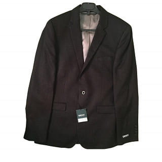 DKNY Slim Fit Black Blazer 1