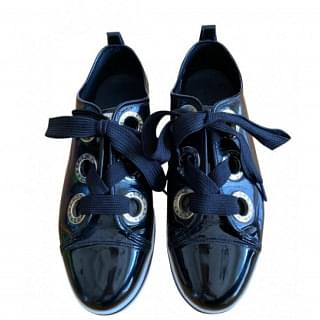 Dolce & Gabanna Patent Leather Sneakers