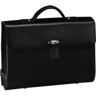 Montblanc Nightflight Double Gusset with Toggle Closure Briefcase