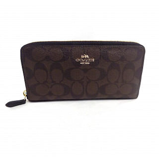 Coach Brown/Black F54632 Wallet