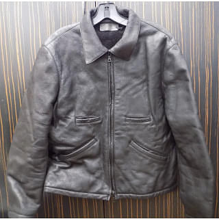 Prada Black Leather Jacket