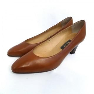 Bally Brown Leather Pumps