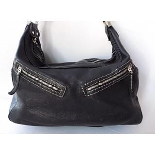 TODS Miky Nomad Black Leather bag