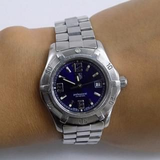 Tag Heuer Professional 200 Meters Blue