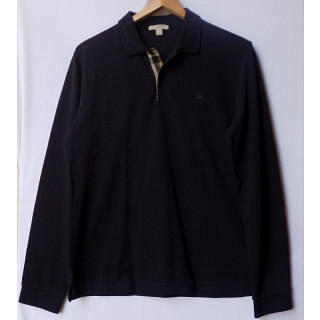 Burberry Brit Polo T- Shirt Dark Navy Blue