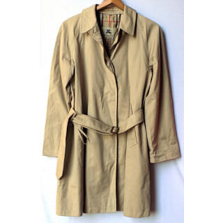 Burberry Cream Trench Coat