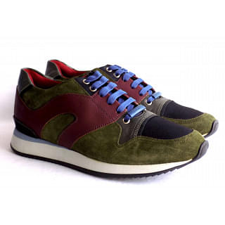 Dior Homme Men's Panelled Sneakers