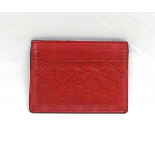Gucci Red Card Holder