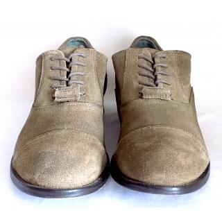 Diesel Chrom Round Toe Suede Oxford
