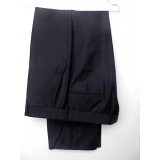 GIEVES & HAWKES CLASSIC BLACK SUIT TROUSER