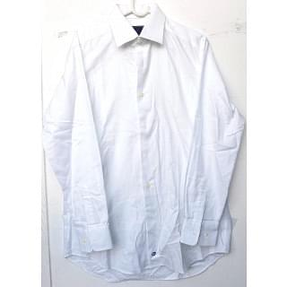 DAVID DONAHUERegular Fit Bib Front French Cuff Tuxedo Shirt