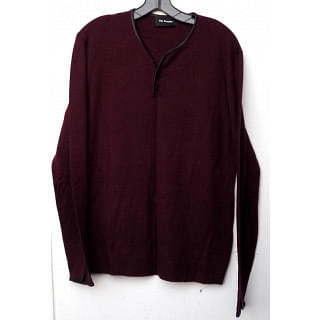 THE KOOPLES Stand-collar cotton-jersey