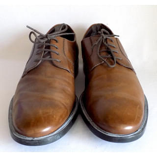 Tods Brown Lace up Derby Shoes