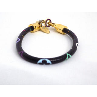 Louis Vuitton Black Luck It Monogram Multicolor Bracelet