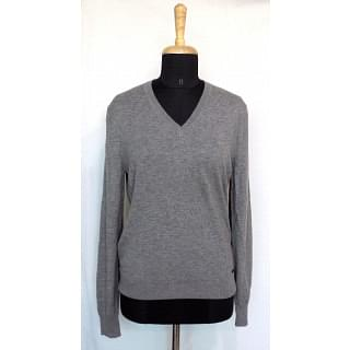 Burberry London Grey V Neck Jumper
