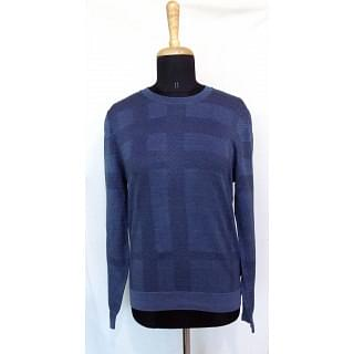 Burberry London jacquard check jumper