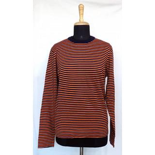 Paul Smith Men's Thin Stripe Merino Wool Sweater