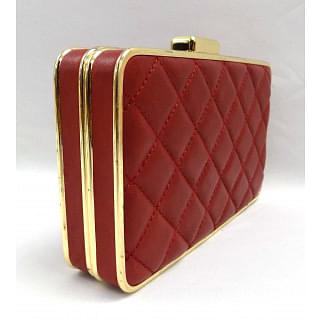 Michael Kors Elsie Quilted Box Clutch