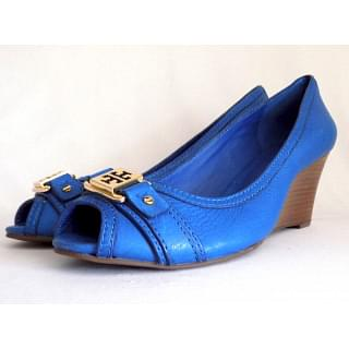 Tory Burch Ambrose Closed Toe Wedge Shoes