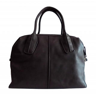 Tod's D-Styling Bauletto Piccolo Leather Bag