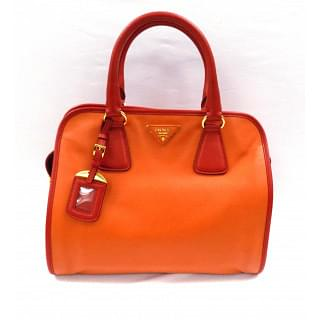 Prada Orange and Red Limited Edition Bag