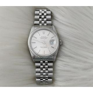 Rolex Datejust Steel Sapphire Crystal Watch