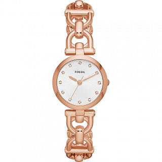Fossil Women's Olive Watch, Rose Gold ES3350