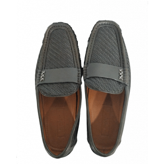 Ermenegildo Zegna Highway Leather Driving Loafers