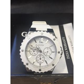 Guess White Dial Watch