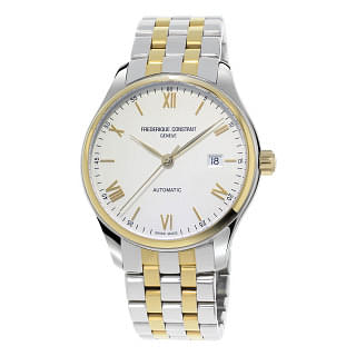 FREDERIQUE CONSTANT White Dial Two-tone Men's Watch