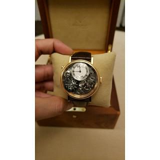 Breguet Tradition GMT 40MM Manual Wind 18K Rose Gold Watch