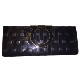 Salvatore ferragamo - Black quilted clutch