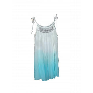 Forever New White and Blue Beach Dress