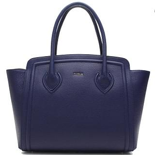 Furla College Tote - Navy